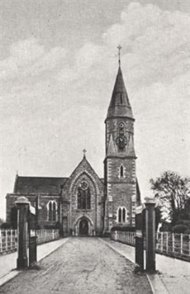 Photo:St. Mary's RC Church, Main Street, Ballinrobe only a short distance from Fr. Augustine's home